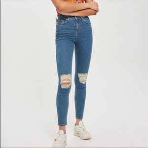 Topshop Jamie Jeans Ripped